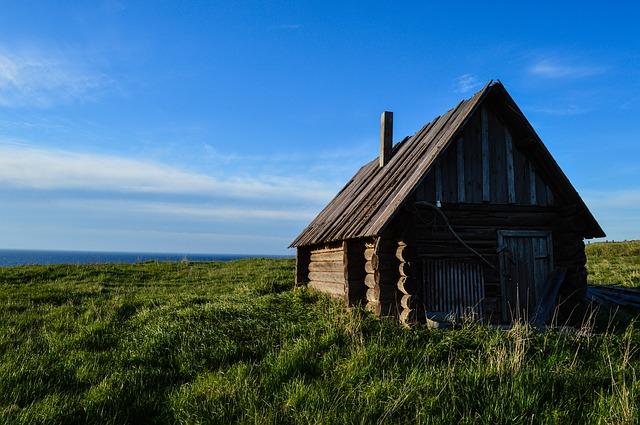 chatka v Norsku