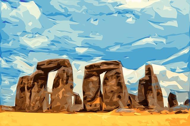 obrázek stonehenge
