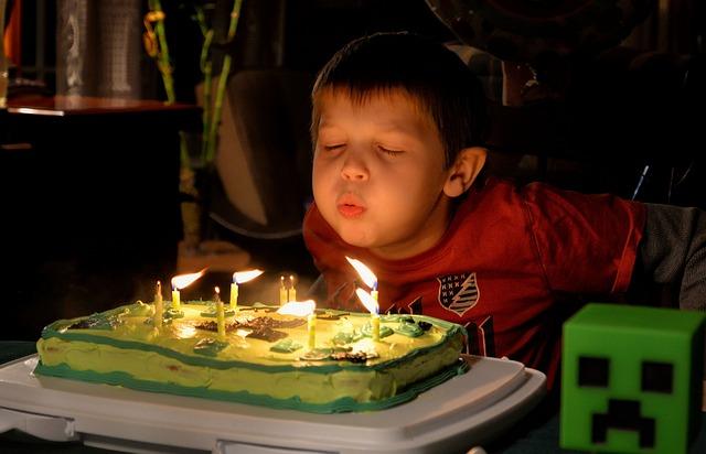 Skákající narozeninová oslava